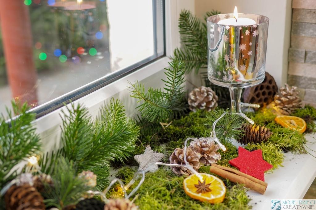 Dekoracje świąteczne Na Okno Którymi Pachnie Cały Dom