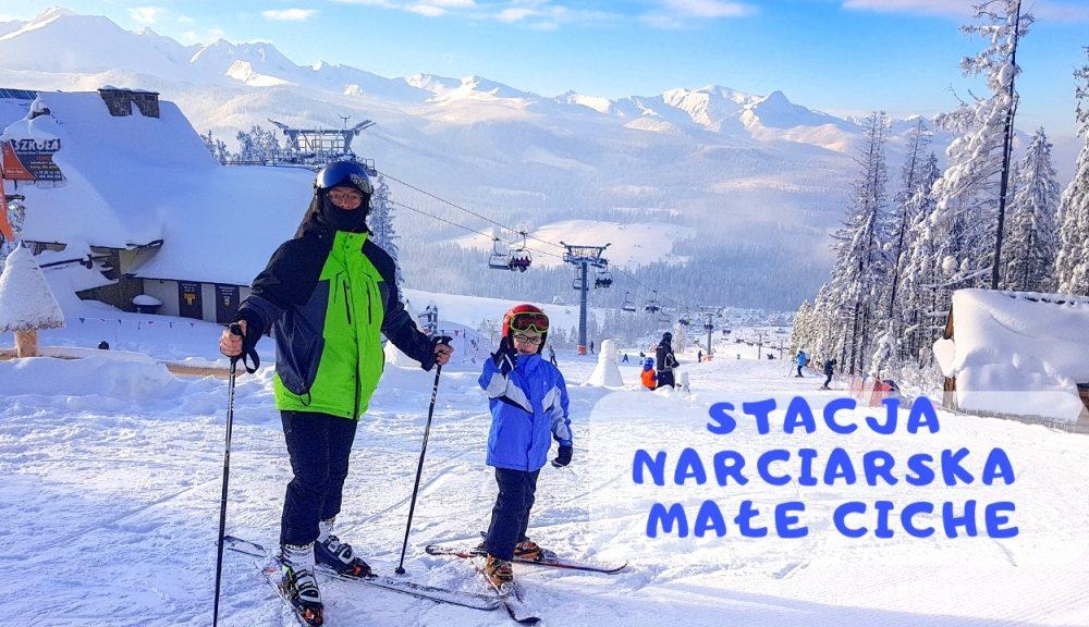 stacja narciarska male ciche