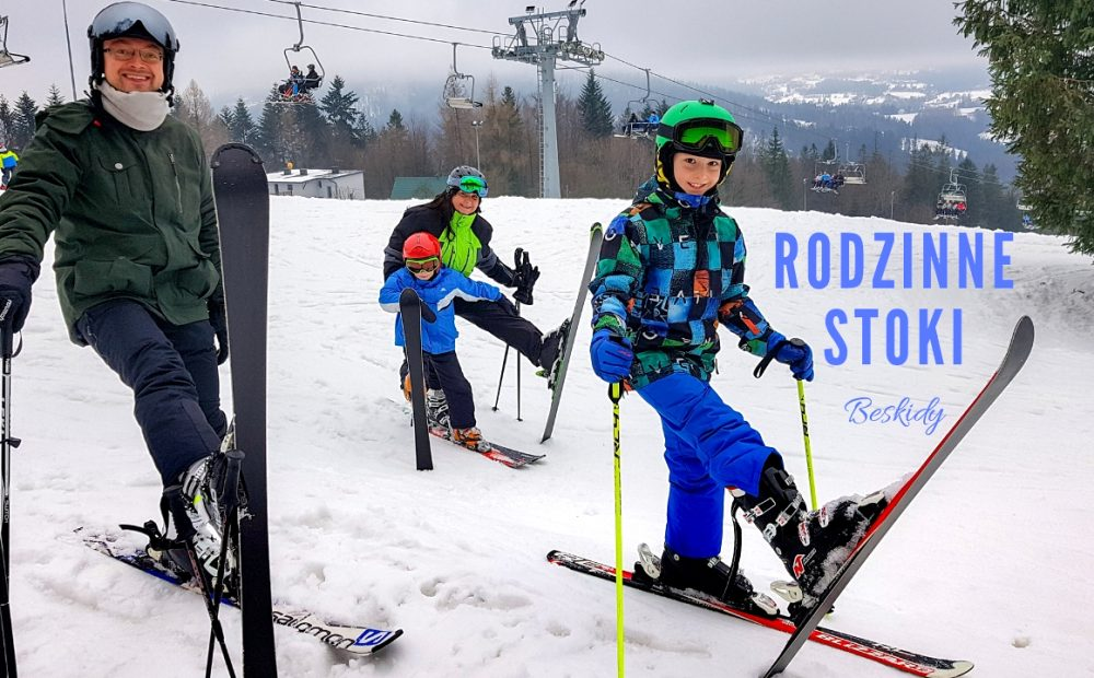 rodzinne stoki narciarskie, rodzinne trasy narciarskie, nauka jazdy na nartach