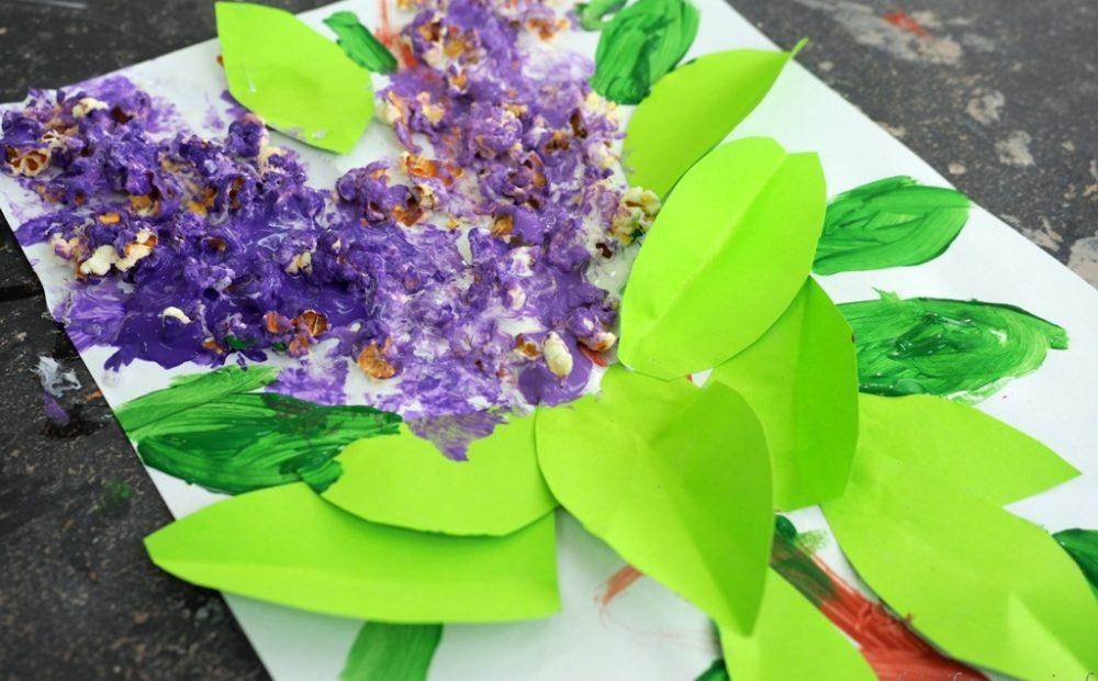 prace plastyczne wiosna