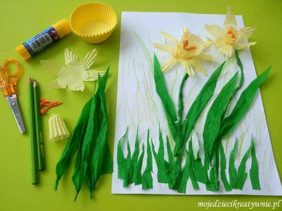 wiosenne prace plastyczne