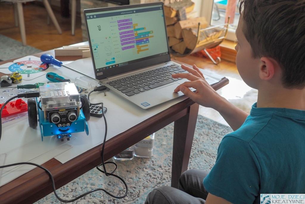 mbot nauka kodowania i programowania dla dzieci, superkoderzy, kodowanie dla dzieci