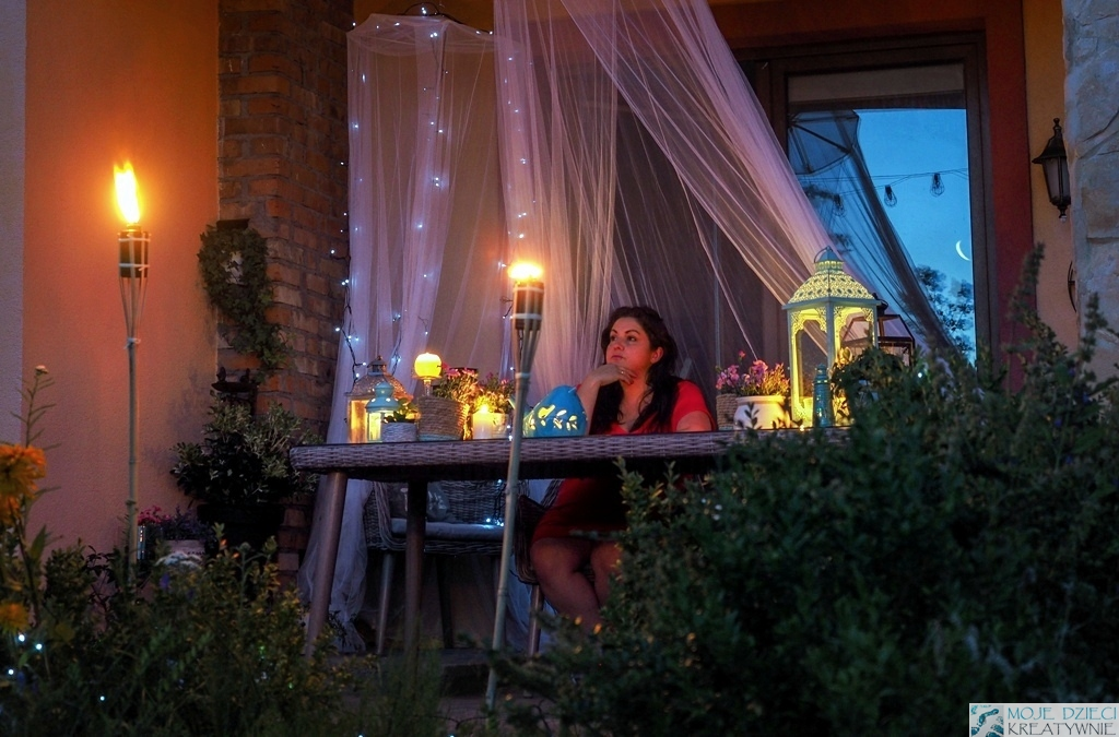 oswietlenie w ogrodzie