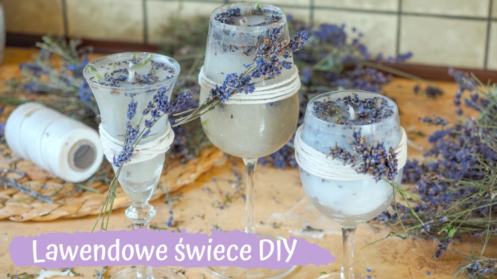 Zapachowe świeczki z Lawendą DIY