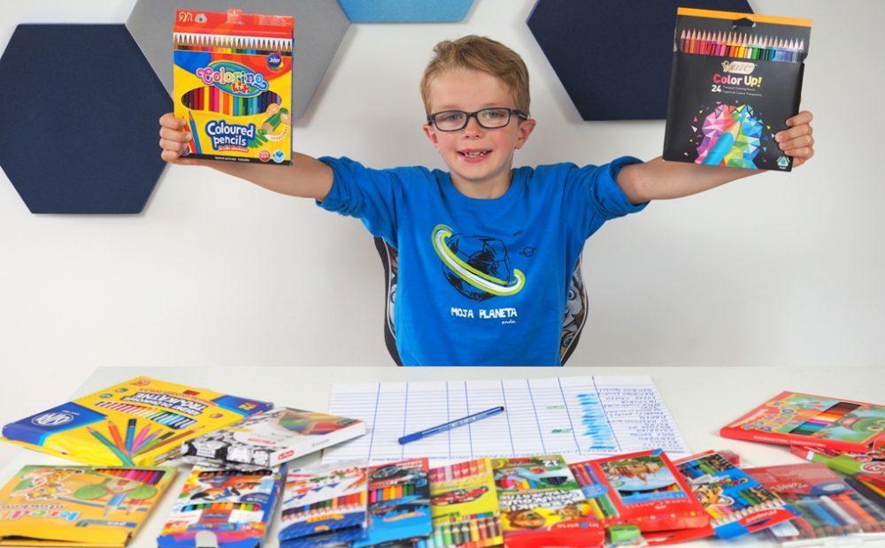 kredki dla dzieci