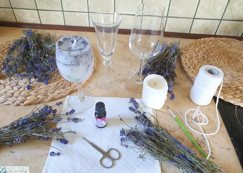 jak zrobić świeczki zapachowe