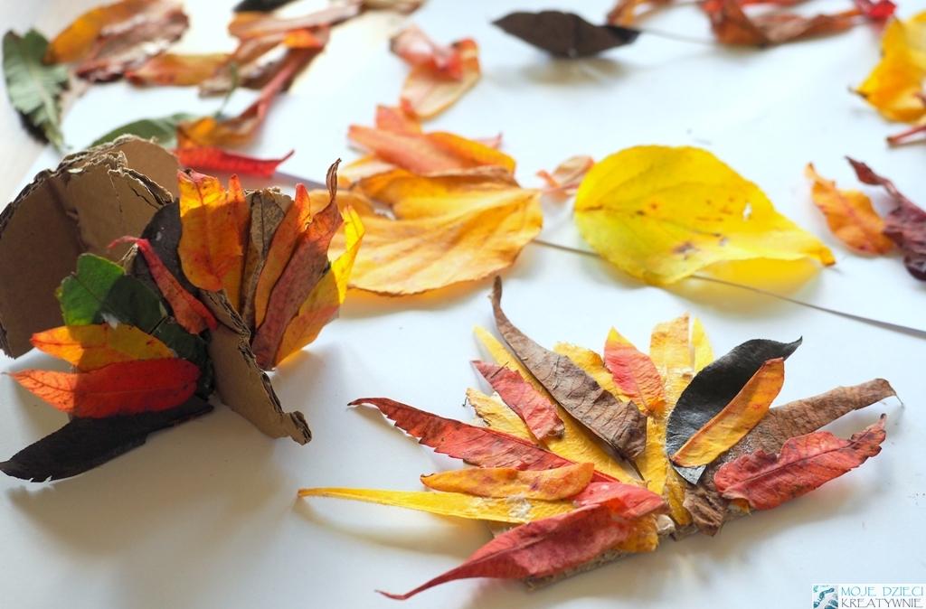 jesien prace plastyczne pomysly
