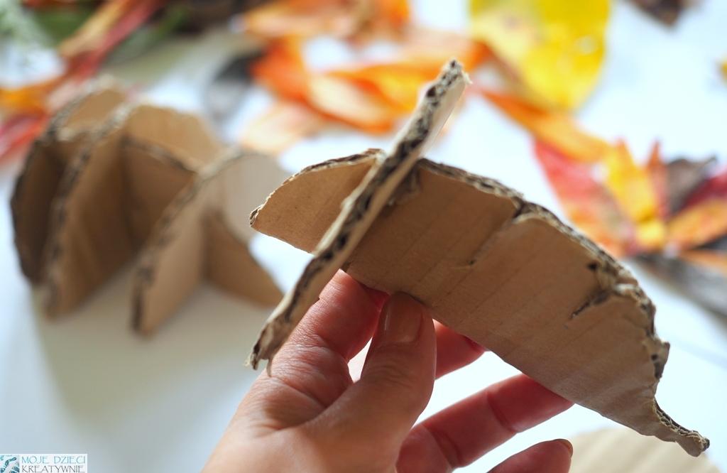 jak zrobic jeza z papieru