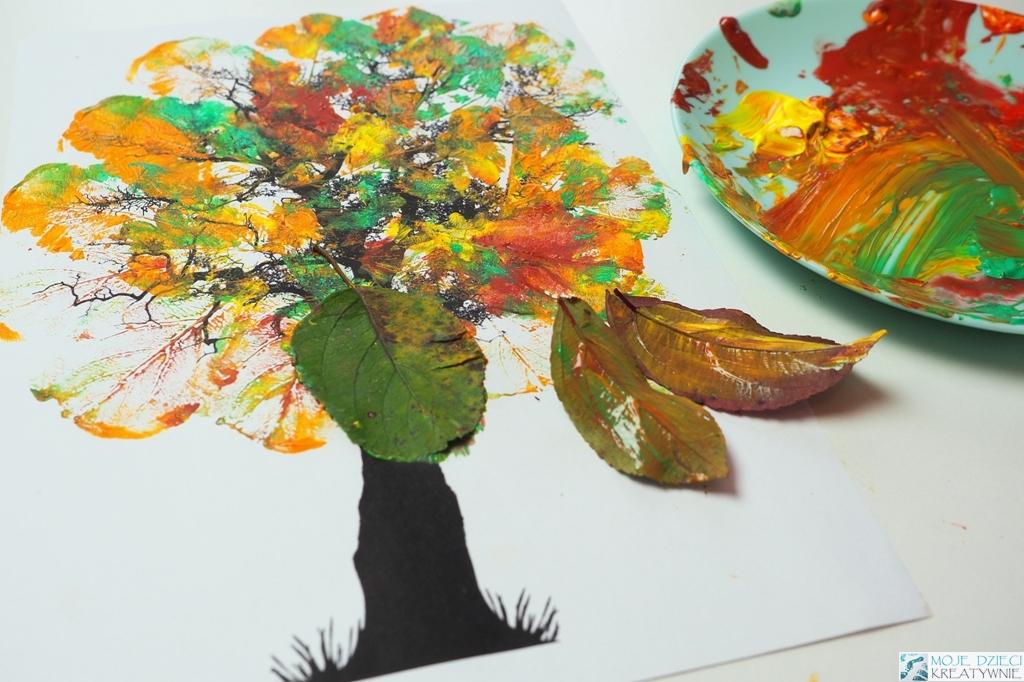 kreatywne prace plastyczne jesien