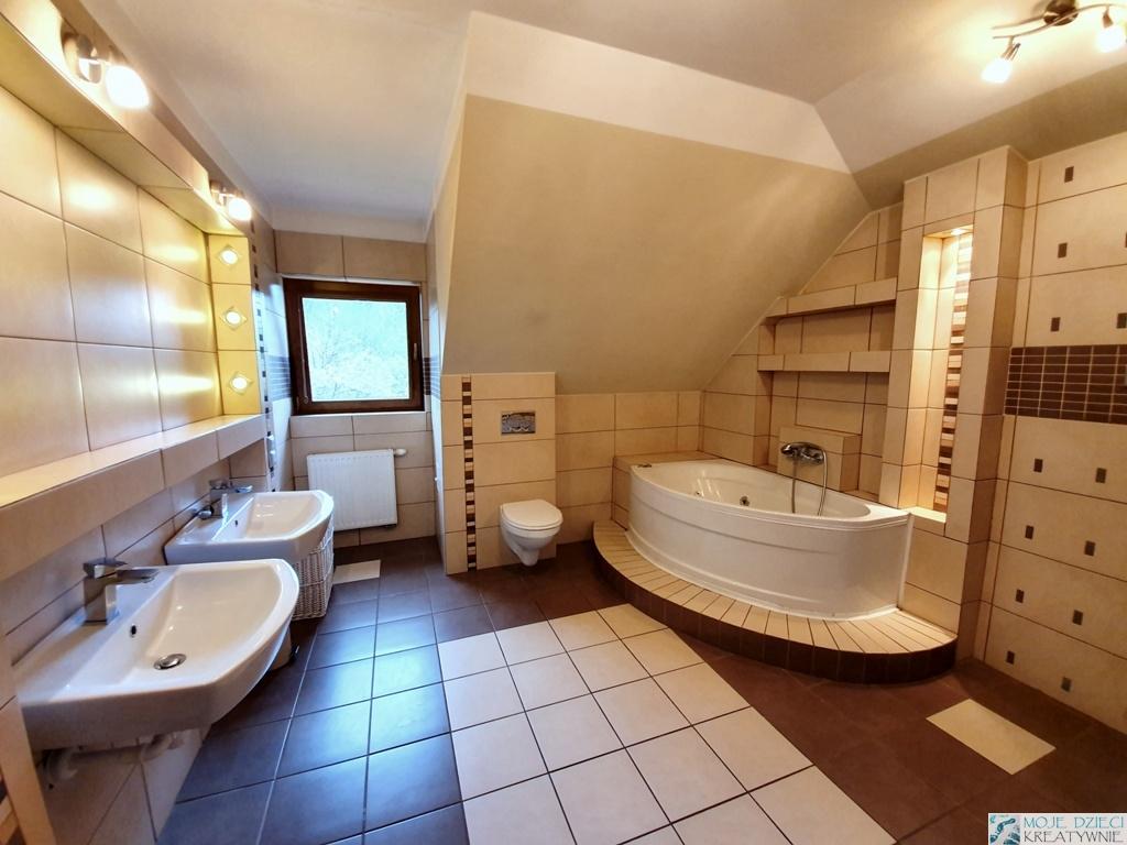 łazienka ze skosami
