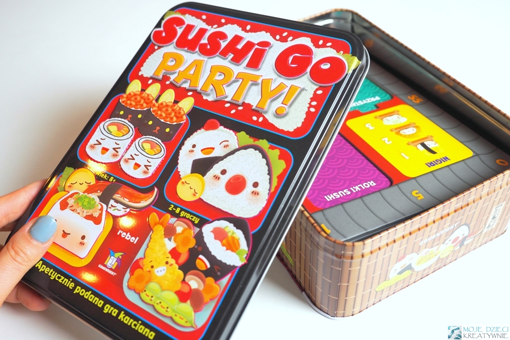 sushi go party opinie