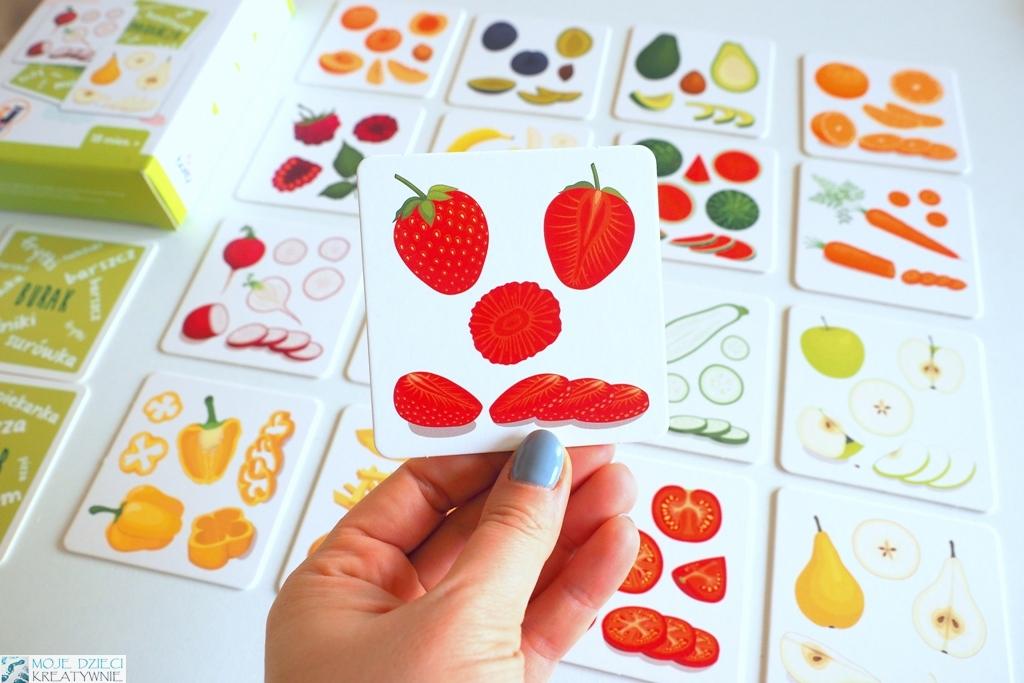 karty owoce