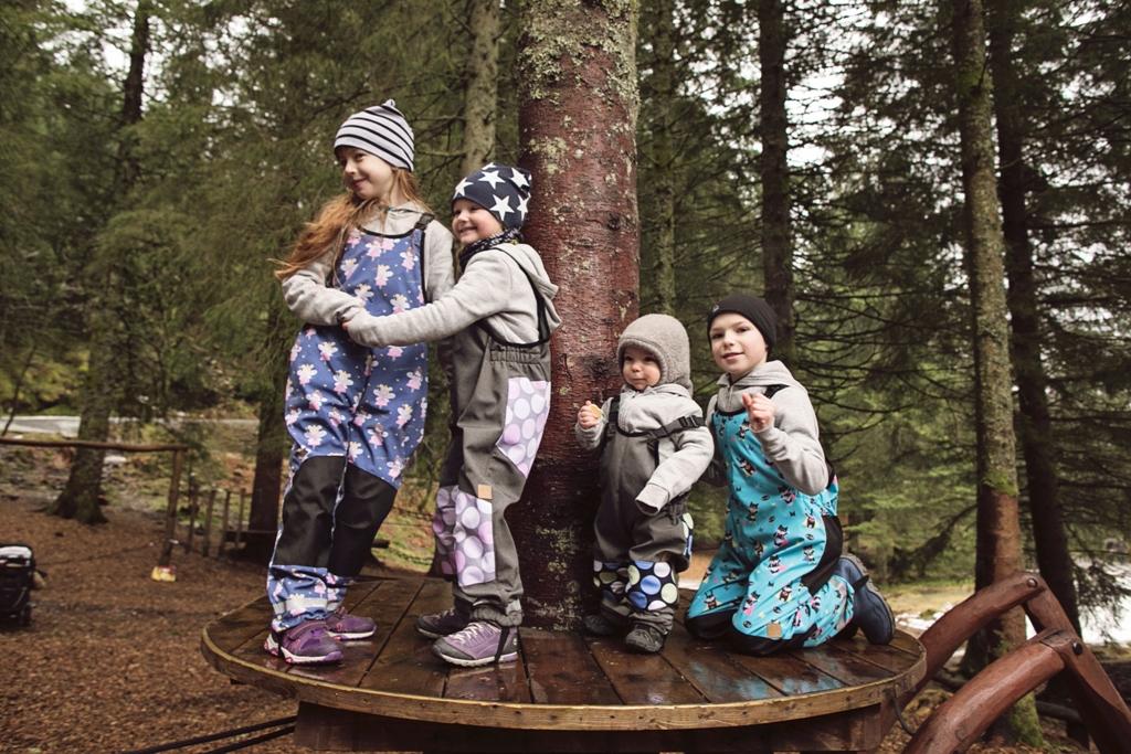 spodnie przeciwdeszczowe dzieciece