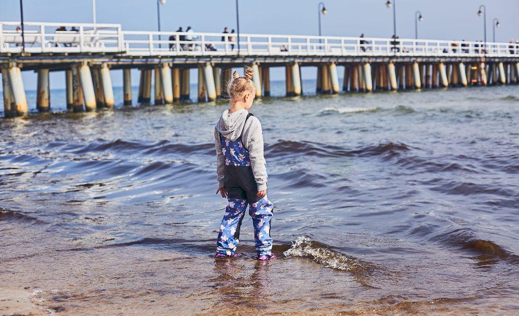 spodnie wodoszczelne dla dzieci