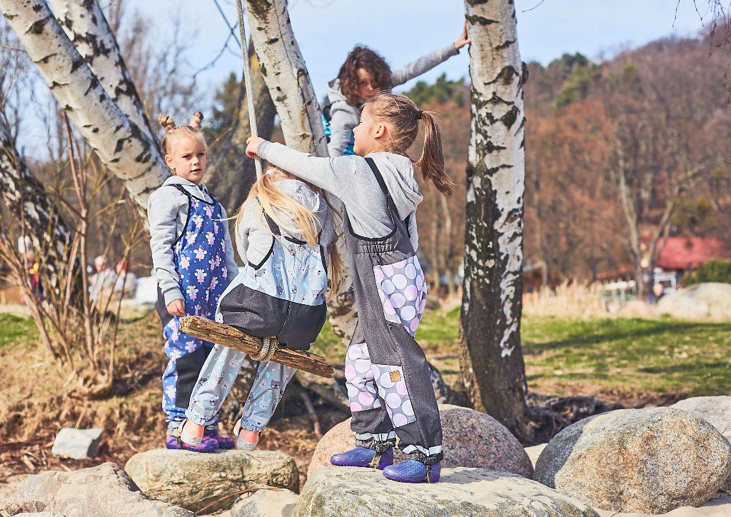 spodnie przeciwdeszczowe dla dzieci