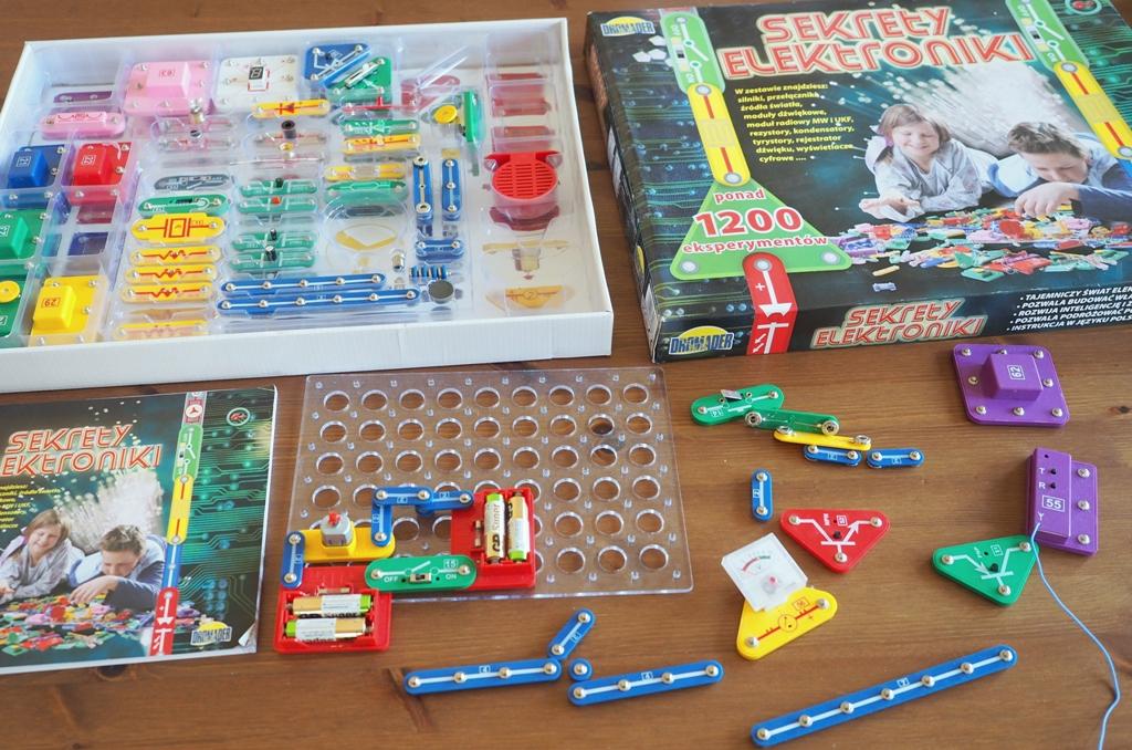 kreatywne prezenty dla dzieci, sekrety elektroniki, prezent dla chłopca, oryginalne prezenty dla dzieci
