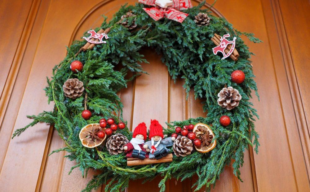 wieniec bożonarodzeniowy diy