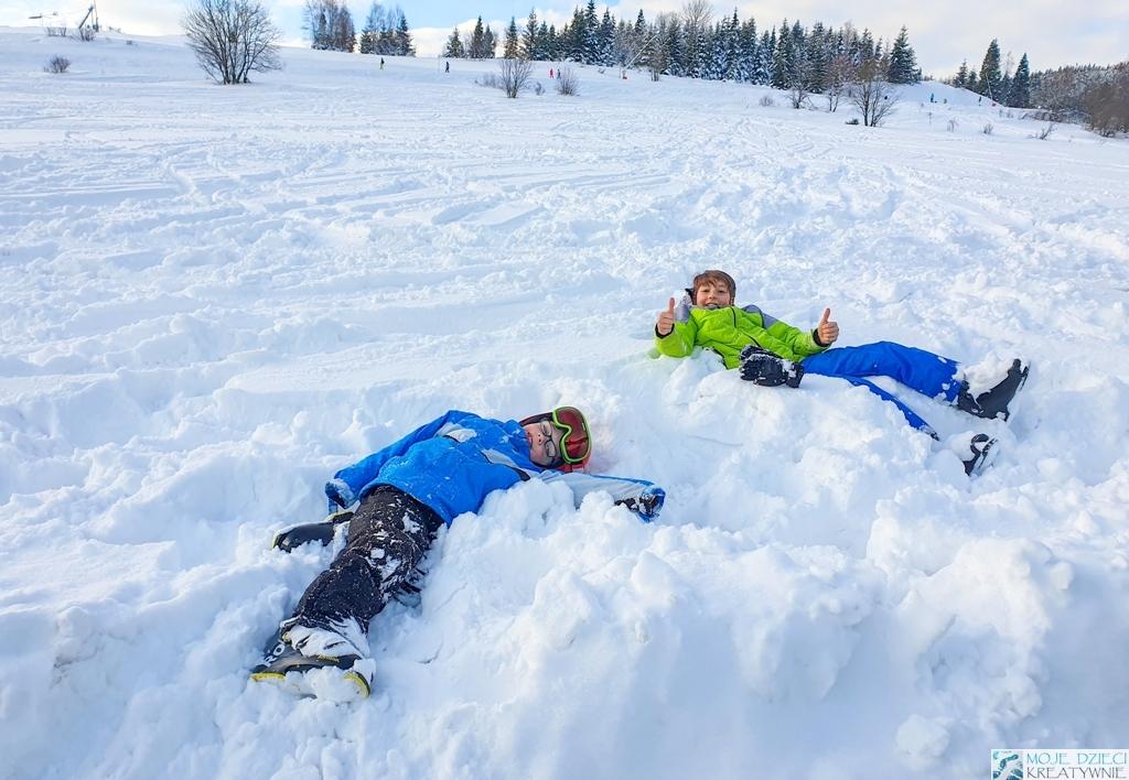gdzie na narty z dziećmi, ferie zimowe, białka tatrzańska