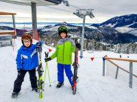 moje dzieci kreatywnie narty, dzieci na nartach, narty z dziećmi, bachledova dolina