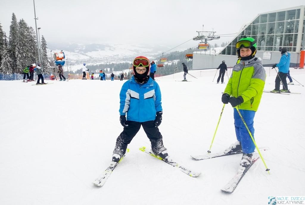 białka tatrzańska, narty z dziećmi, rodzinne trasy narciarskie