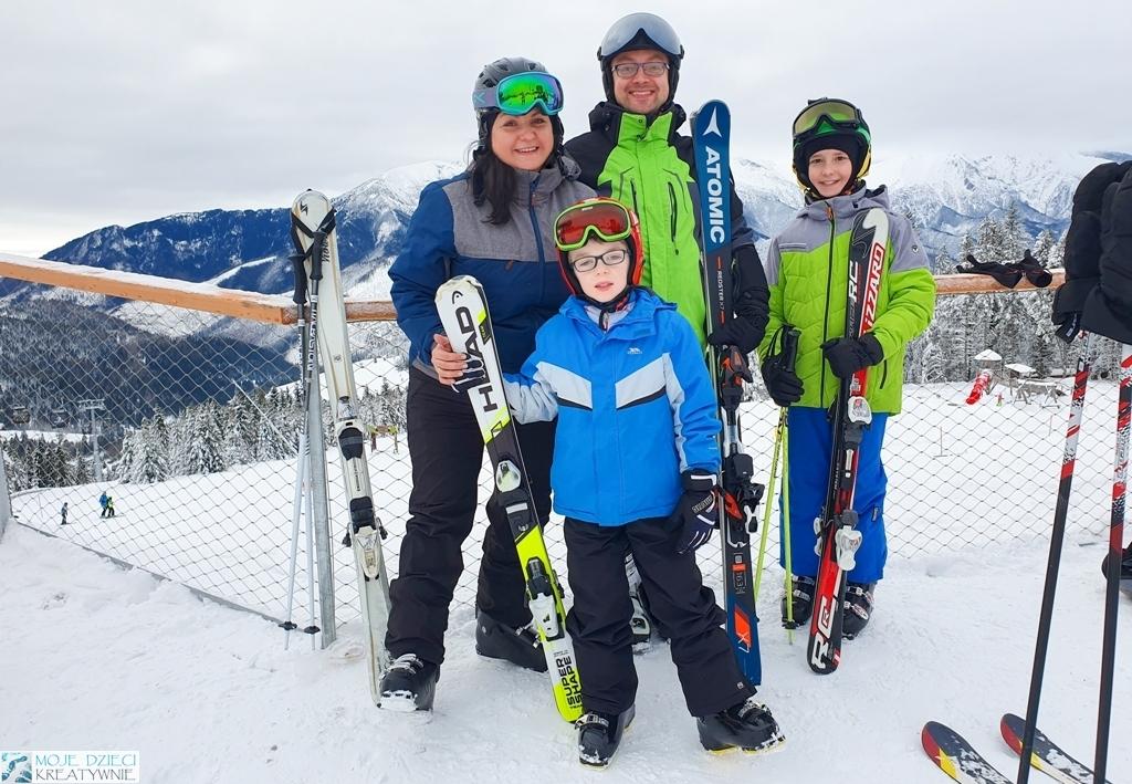 Narty z dziećmi, blogi parentingowe, rodzina na nartach, bachledova dolina, moje dzieci kreatywnie