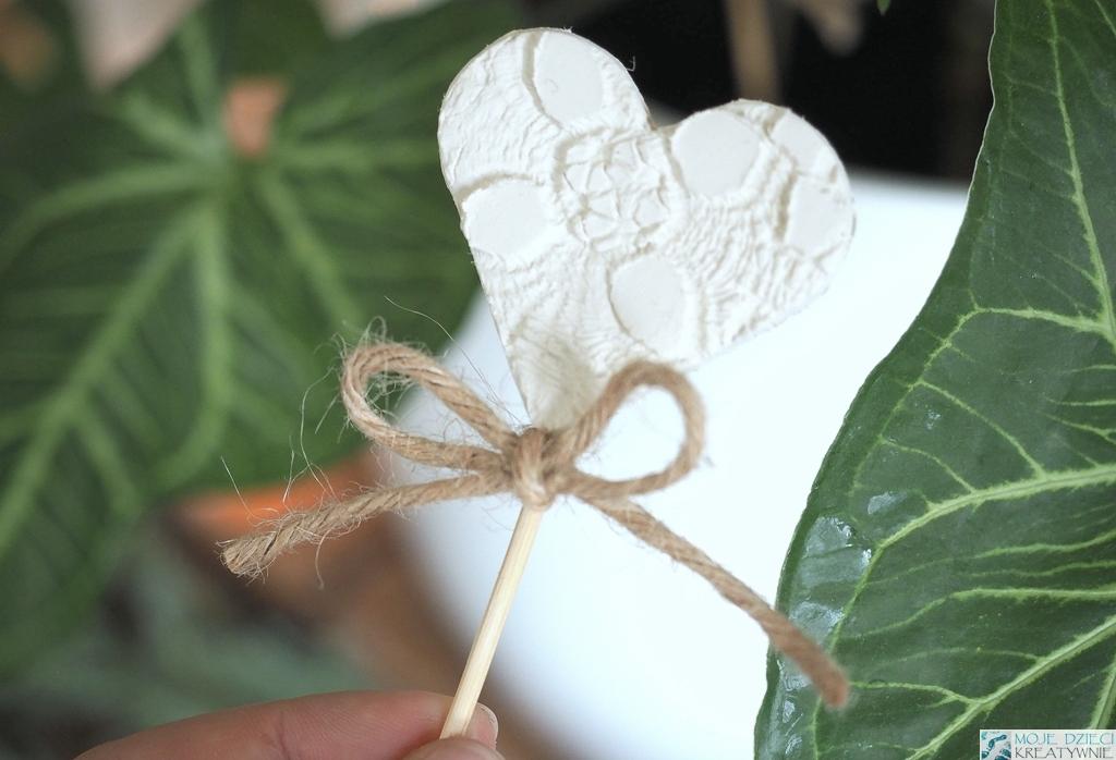 dekoracje dla dzieci z gliny, masy solnej