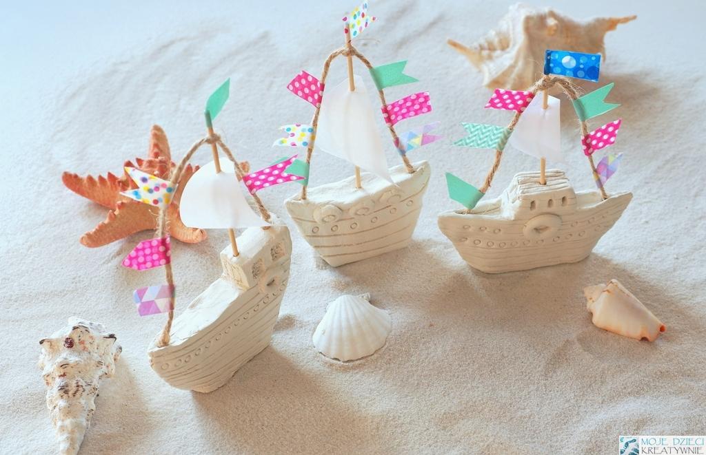warsztaty kreatywne dla dzieci w morskim klimacie