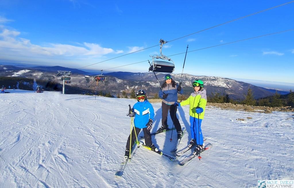 narty z dziećmi szczyrk