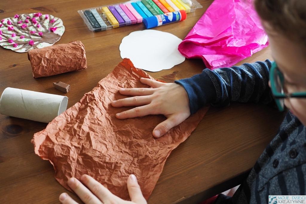 prace plastyczne dla dzieci w przedszkolu, wiosna