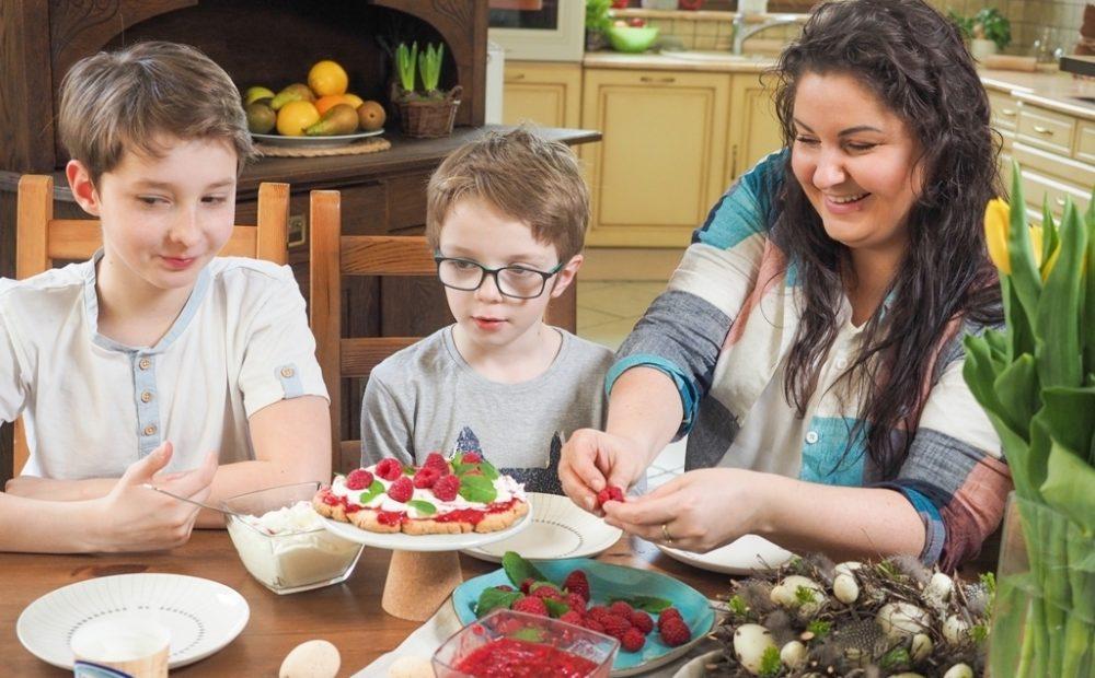 gotowanie razem z dziecm, proste przepisy dla dzieci