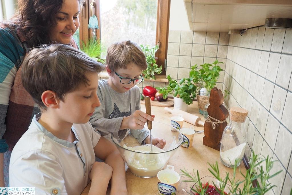 gotowanie razem z dziećmi blog