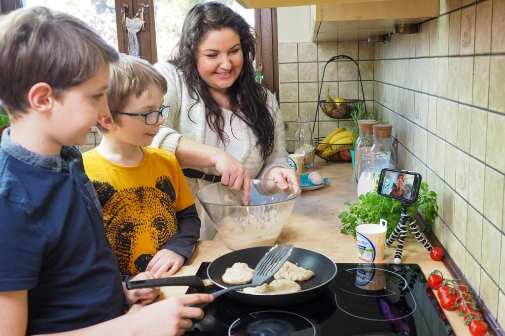 zostan w domu z przyjemnoscia, Puszyste pancakes przepis