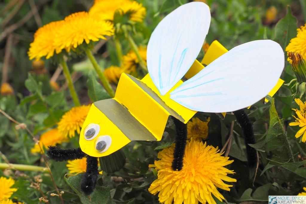 pszczoła praca przestrzenna