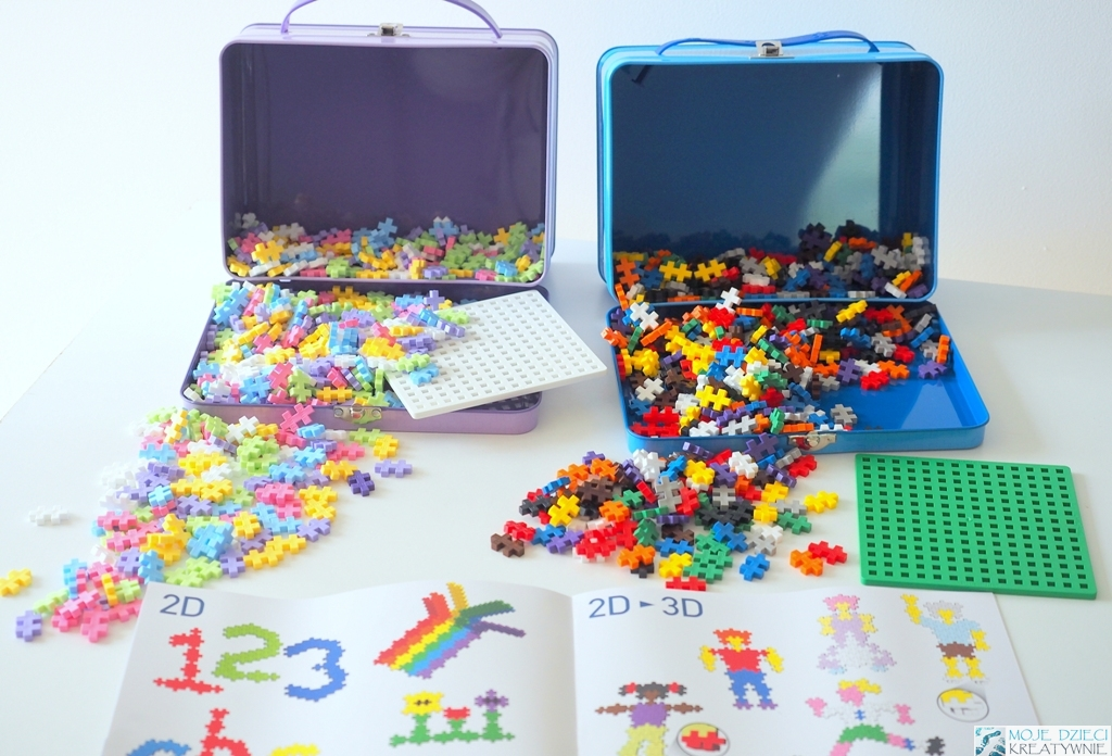 kreatywne pomysły na prezenty dla dzieci, super prezent dla dziecka, oryginalne prezenty, klocki plus plus mini