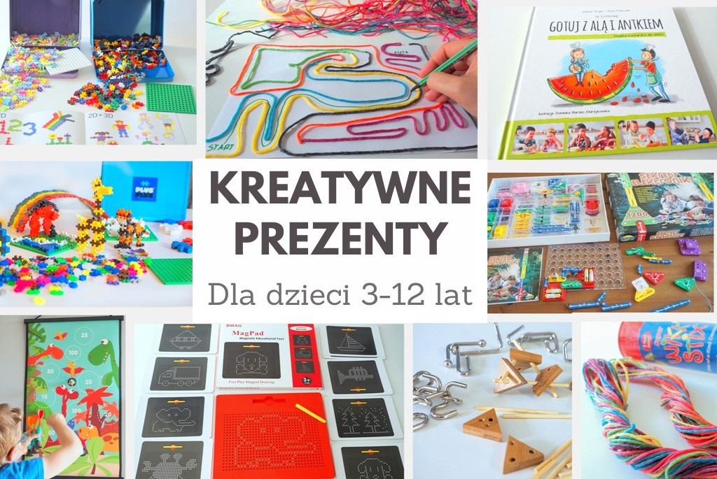 kreatywne i oryginalne prezenty dla dzieci