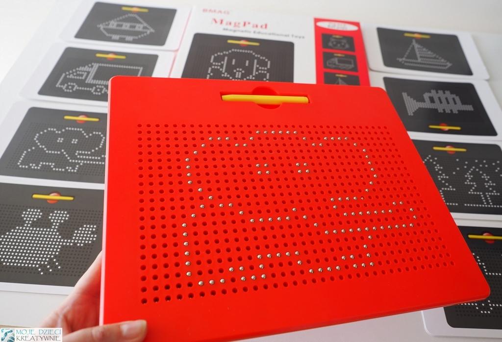 tablica magnetyczna, magpad, kreatywne zabawki dla dzieci, pomysły na kreatywne zabawki