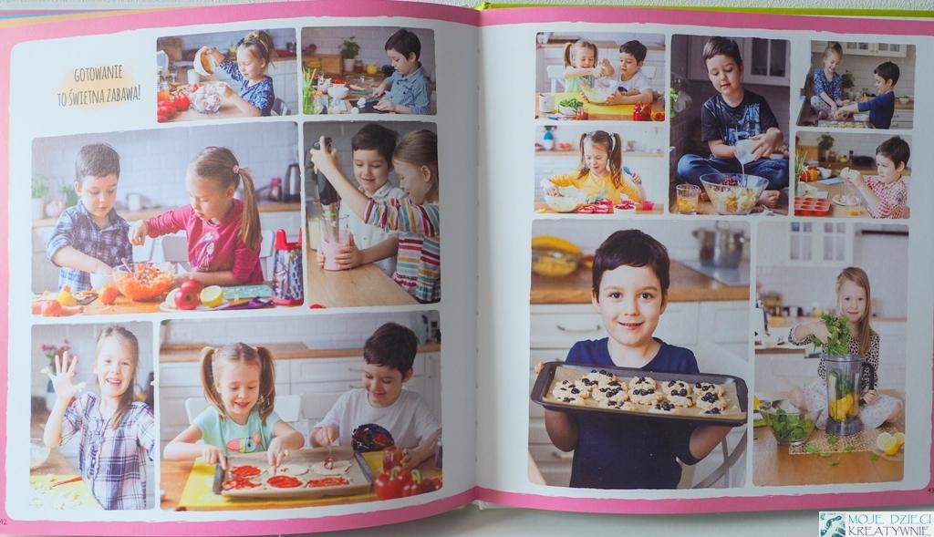 książka kucharska dla dzieci, alaantkoweblw, gotuj z ala i antkiem