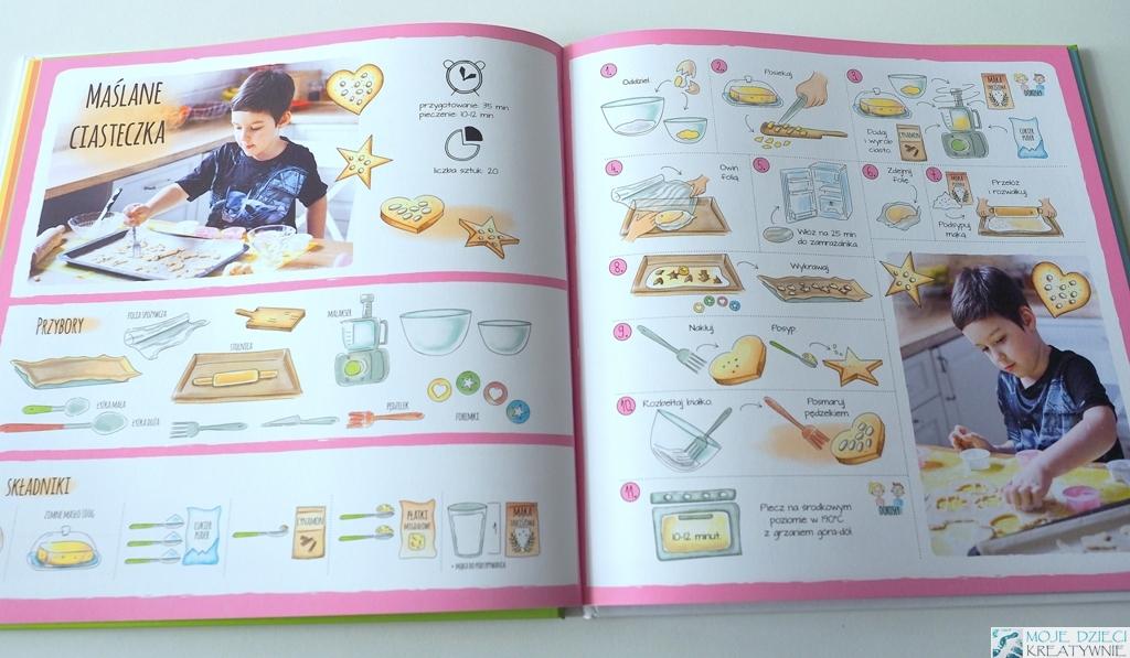ksiazka kucharska dla dzieci, alaantkoweblw, gotuj z ala i antkiem