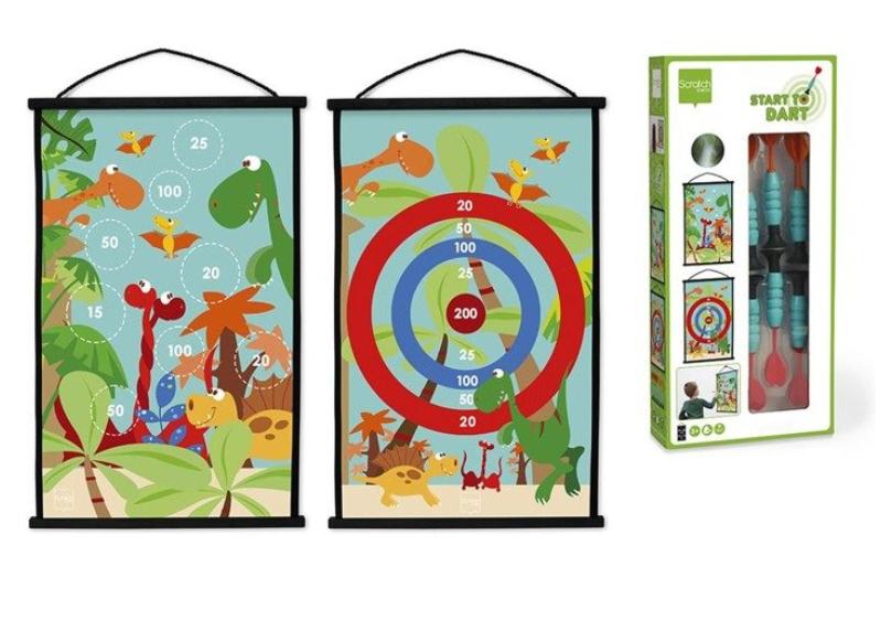 pomysły na oryginalny prezent dla dzieci, rzutki