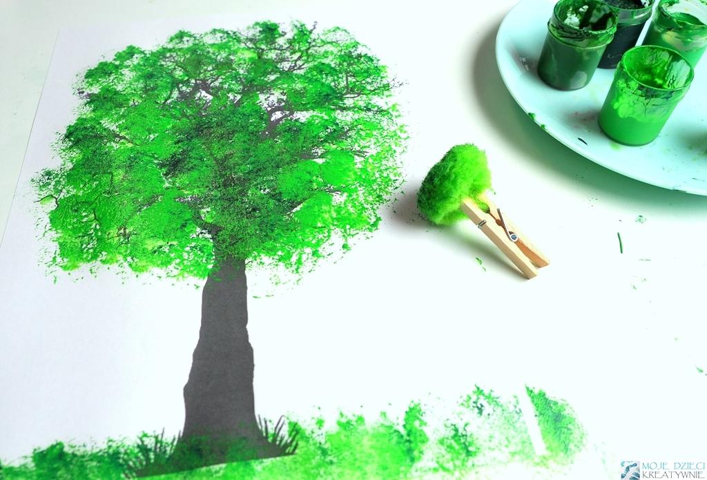 Wiosenne prace plastyczne dla przedszkolaków