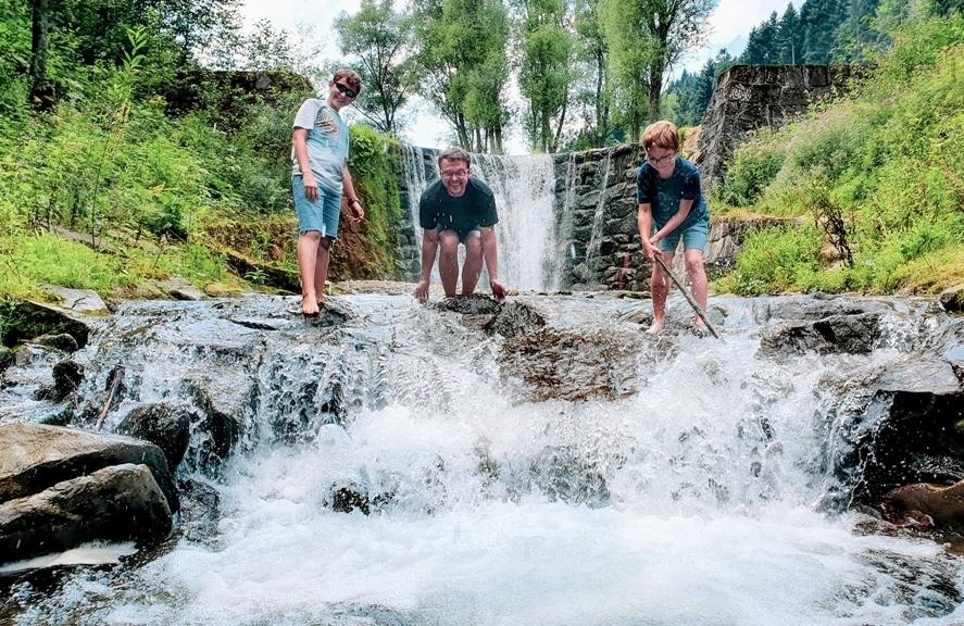 Beskid Sądecki atrakcje dla dzieci, wodospad czercz, atrakcje dla dzieci beskidy, co warto zobaczyc w beskidach