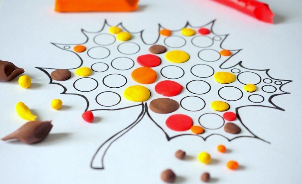 dzień kropki, szablon liścia, materiały do druku, dzień kropki w przedszkolu