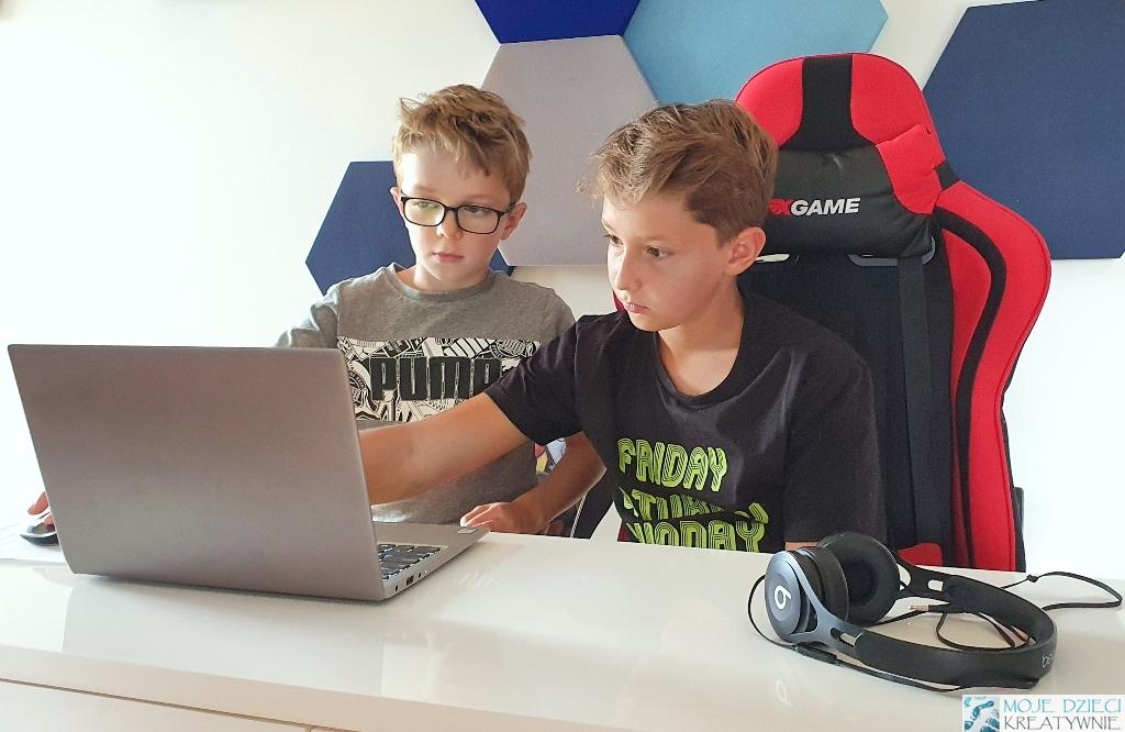 moje dzieci kreatywniem, nauka kodowania i programowania