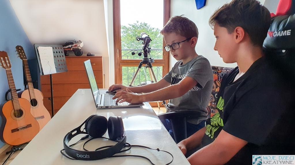 moje dzieci kreatywnie, kodowanie, programowanie, kursy online