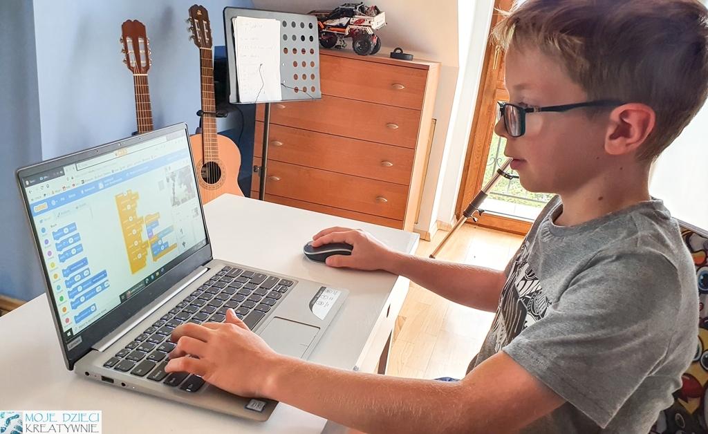kursy programowania online dla dzieci, giganci programowania opinie, moje dzieci kreatywnie