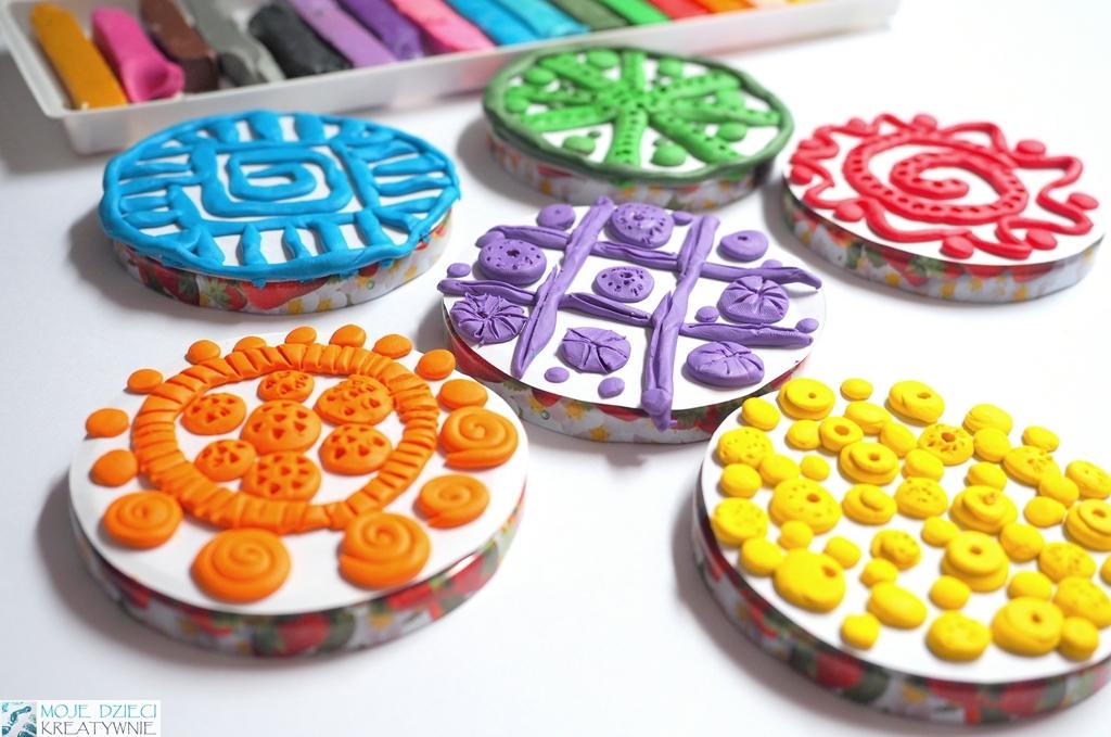 prace plastyczne z plasteliny, co można zrobić z plasteliny pomysły, moje dzieci kreatywnie plastelina