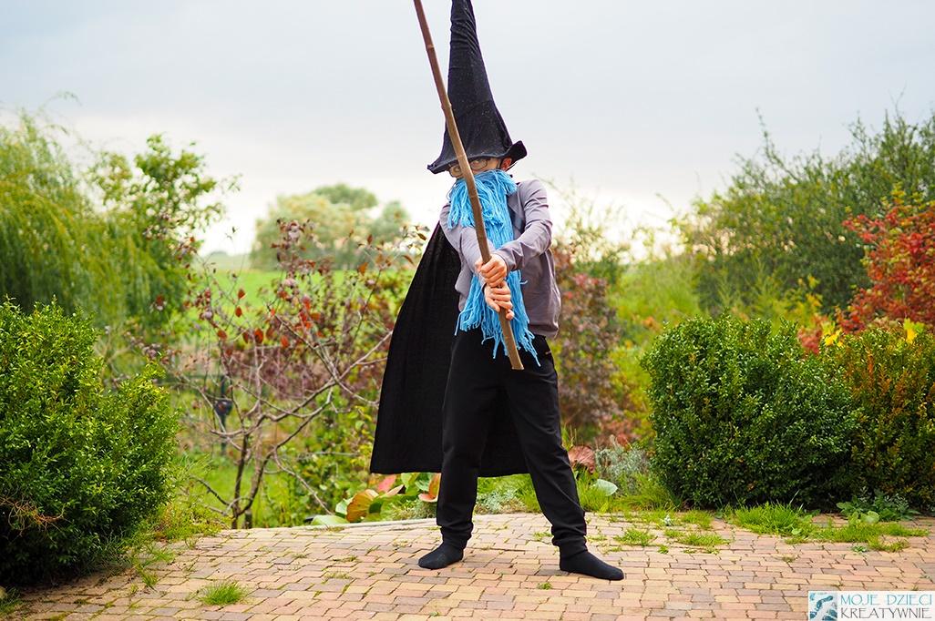 strój czarodzieja, przebranie czarodzieja, pomysły na przebrania dla dzieci, stroje dla dzieci w przedszkolu, bal przebierańców