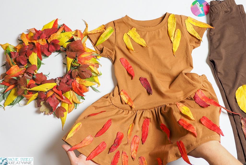 pani jesień, przebranie pani jesień, bal jesieni, strój dla pani jesień, pomysły na przebrania dla dzieci