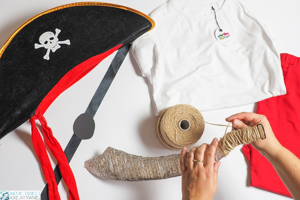 jak zrobić strój pirata