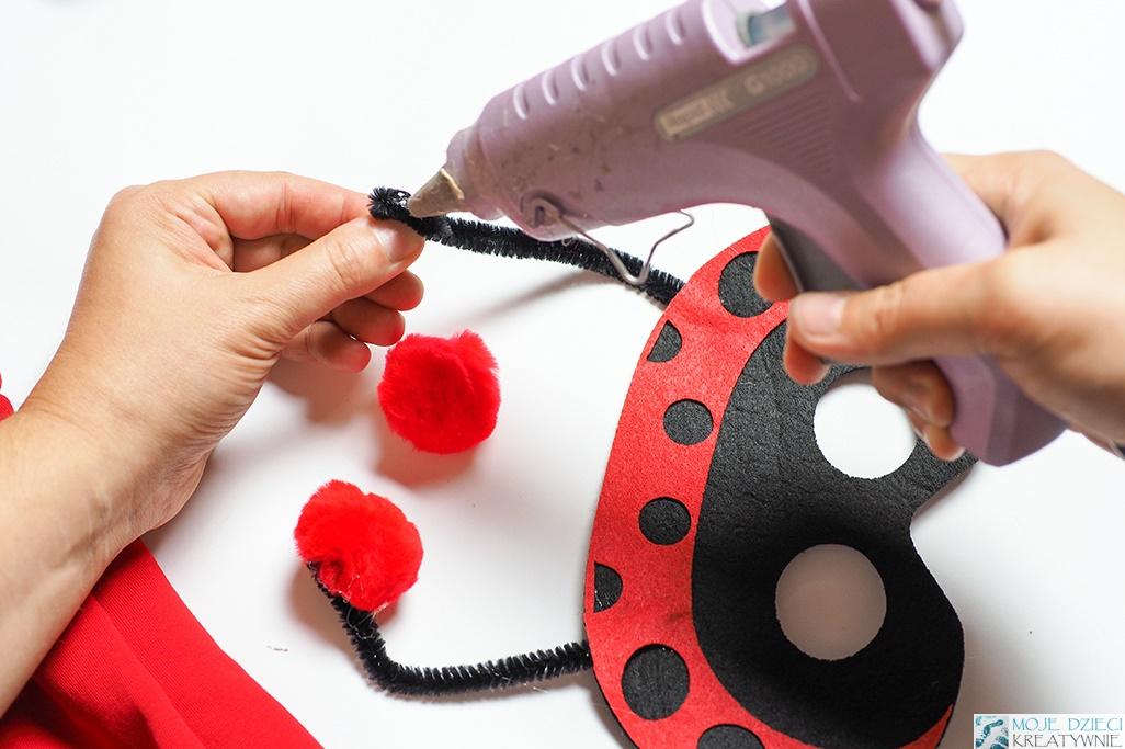 pomysł na maske dla biedronki